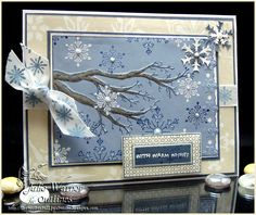 Looks like the branch die from Memory Box would be a good substitute on a similar card.  Love this!