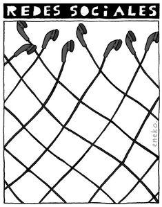 Redes sociales - metáfora para pensar