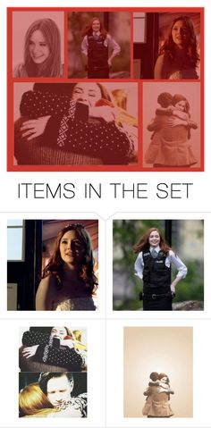 """""""Amelia Pond: """"The Girl Who waited; Was it worth It?"""""""" by violet-not-indigo ❤ liked on Polyvore featuring art"""