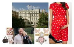 """""""Taking Adi to stay with """"Mawa"""" and """"Puppa"""" at Clarence House"""" by duchess-rebecca ❤ liked on Polyvore featuring Amoralia, Red Herring Maternity, C. Wonder, Latelita, Michele, Diana M. Jewels and Louis Vuitton"""