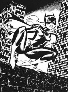 """""""Batman: The Animated Series - Batgirl"""" by Bruce Timm #brucetimm"""