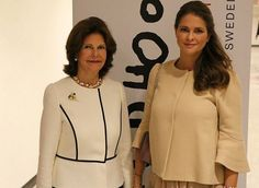 Queen Silvia and Princess Madeleine attended the seminar of World Childhood Foundation