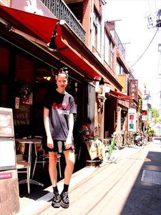 typical Harajuku girl's style