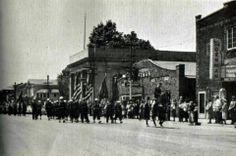 Parade, Main Street, Borough of Girard (Year Unknown). Wonder if it's Dan Rice parade?