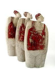 Resultado de imagen para keramiek beelden raku