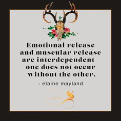 Every thought or feeling you experience has a corresponding physical reaction.  Every thought.  Every emotion.  No exceptions.