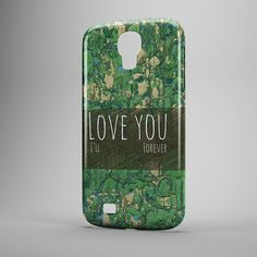 OLD LOVER  Hard polymer case cover with wood by InfigoDesign, $19.99