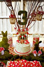 Party Printables | Party Ideas | Party Planning | Party Crafts | Party Recipes | BLOG Bird's Party: Cool Customers: A Beautiful Woodland Birthday Party from Down Under!