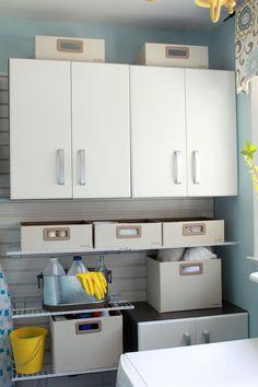 Flowwall Laundry Modular Cabinet