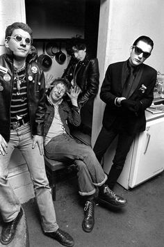 """The Damned. They wrote """"Dark Asteroid"""" for Syd Barrett on the album So, Who's Paranoid?"""