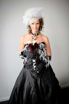 Custom #couture by Brooks Luby of Brooks LTD. Denver, Colorado fashion designer for weddings, galas, special events. One of a kind.