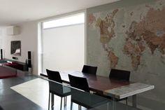 Executive World Map Wallpaper, WM816, Maps International