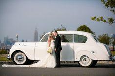 Vintage car for your wedding.