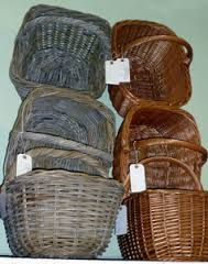 wicker shopping basket with groceries - Google Search