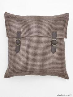 Tartan Satchel Cushion Cover