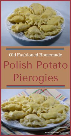 Old Fashioned Homemade Polish Potato Pierogies - - Enjoy these amazing Homemade Potato Pierogies! My Grandma was mostly Polish and I remember her cooking fondly. Her dumplings were one of my favorite meals ever! Pierogies Homemade, Homemade Sauerkraut, Pierogi Filling, Dumpling Filling, Cheese Pierogi Recipe, Polish Pierogi Dough Recipe, Pierogi Casserole, Antigua