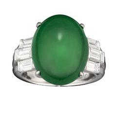 Imperial Jadeite Ring - MS Rau Antiques