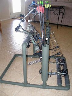 PVC bow stand