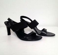 Helmut Lang Black Leather Sandal Size 36.5 #LABlovesyoucontest