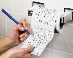 The Sudoku toilet roll is a definite favourite with puzzle fanatics., The toilet paper has a Sudoku puzzle printed onto each square of toilet paper to enable puzzle fun while visiting the loo., Ideal for secret Santa Xmas gifts, Each roll is approx 25 met Geeks, Cool Gifts, Unique Gifts, Toilet Paper Humor, Sudoku Puzzles, Crossword Puzzles, Toilet Roll Holder, Practical Jokes, Bathroom Toilets