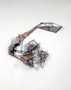 LEE BUL  Untitled sculpture W5-1, 2010  stainless steel, aluminum, mirror, wood, polyurethane sheet, acrylic mirror  56.69 x 64.17 x 17.72 inches