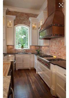 Do It Yourself Brick Veneer Backsplash | Pinterest | Bricks, Kitchens And  House