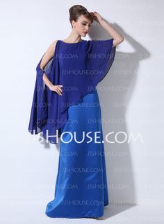 Mother of the Bride Dresses - $119.99 - Sheath One-Shoulder Floor-Length Satin Mother of the Bride Dress (008022448) http://jjshouse.com/Sheath-One-Shoulder-Floor-Length-Satin-Mother-Of-The-Bride-Dress-008022448-g22448