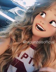 Rapunzel as a teenager!