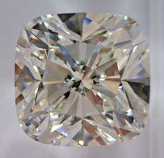 4.12-Carat Cushion Brilliant Cut Diamond  This Fancy-cut I-color, and VS1-clarity diamond comes accompanied by a diamond grading report from GIA   $66,085.58