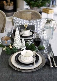 Dark Christmas Decor - The Gorgeous New Greengate Collection for Autumn Winter 2015