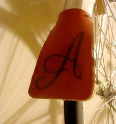 DIY Crafts DIY leather mudguards for bicycle fenders