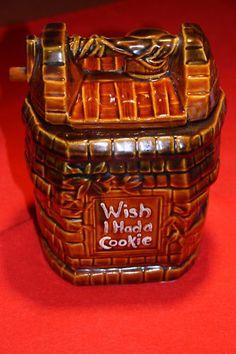 Wishing Well Cookie Jar