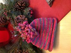 The hat I knitted for my granddaughter Cora.  Pattern is on Ravelry, by Susan Anderson.