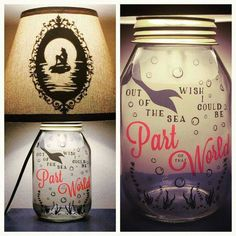 Ariel lamp from etsy