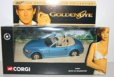 Corgi  james bond 007 BMW Z3 roadster goldeneye the definitve collection 1.36 scale diecast model corgi james bond 007 BMW Z3 roadster goldeneye car diecast model this model is from the definitive collection brand new displayed in a mint box and is in mint condition t (Barcode EAN = 0032435049019) http://www.comparestoreprices.co.uk/december-2016-6/corgi-james-bond-007-bmw-z3-roadster-goldeneye-the-definitve-collection-1-36-scale-diecast-model.asp