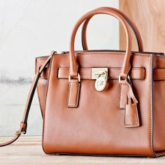 Rich, chocolate leather bags that are sure to make you melt.