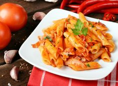 Attention, pasta lovers! It's possible to eat pasta while maintaining a trim physique—you just have to top your plate of penne with the right sauce.