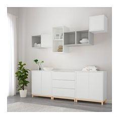 Ikea Füße eket schrankkombination füße weiß ikea hack ikea eket and living