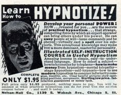 Learn to Hypnotize today!