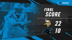 Panthers fall to 1-2 after second half thumping by Vikings, 22-10
