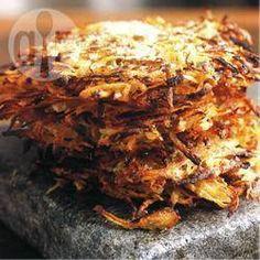 Knusprige Kartoffelrösti mit Parmesan @ de.allrecipes.com