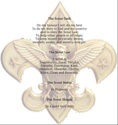 The Scout Oath, Motto, Slogan & Law