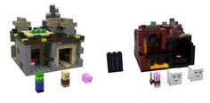 LEGO Minecraft : The Village & The Nether - www.hothbricks.com