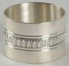 Christofle France Malmaison-Beauharnais Silverplate Napkin Ring