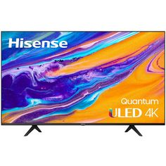 Get this Hisense 65U6G 65-Inch Quantum ULED 4K UHD Smart Android TV for only $664.99 after a price drop from $849.99 at Best Buy. You save 22% off the retail price for this smart TV. Plus, this item ships free. This is the lowest price we could find online by about $35. The Hisense 65U6G […] Sounds Like, Smart Tv, Hdr, Quad, Android, Televisions, Artwork, Model