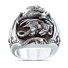 Dragon Men's Ring