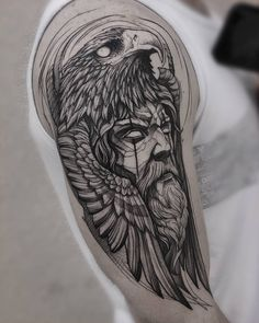 Lion Forearm Tattoos, Lion Head Tattoos, Arm Sleeve Tattoos, Eagle Tattoos, Body Art Tattoos, Hand Tattoos, Zeus Tattoo, Norse Tattoo, Grandchildren Tattoos