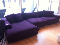 Perfect Purple Couch Set 77 Sofa Table Ideas with Purple Couch Set Purple Leather Sofas, Purple Couch, Plywood Furniture, Furniture Ideas, Purple Furniture, Purple Rooms, Couch Set, Purple Reign, All Things Purple