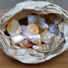 #Citrine Rough for Tumbling - Rough Rocks, Minerals and Crystals Shop