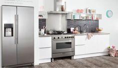 Bensheim hoogglans witte keuken